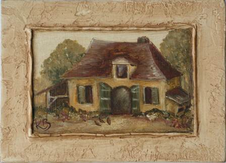 Maison du Périgord par K. BIZOU