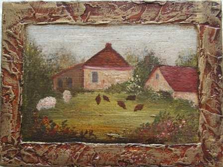 Miniature Champêtre par K. BIZOU