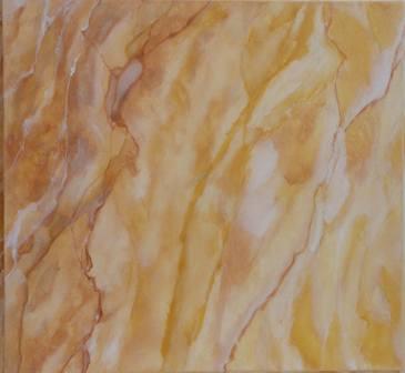 faux marbre en jaune
