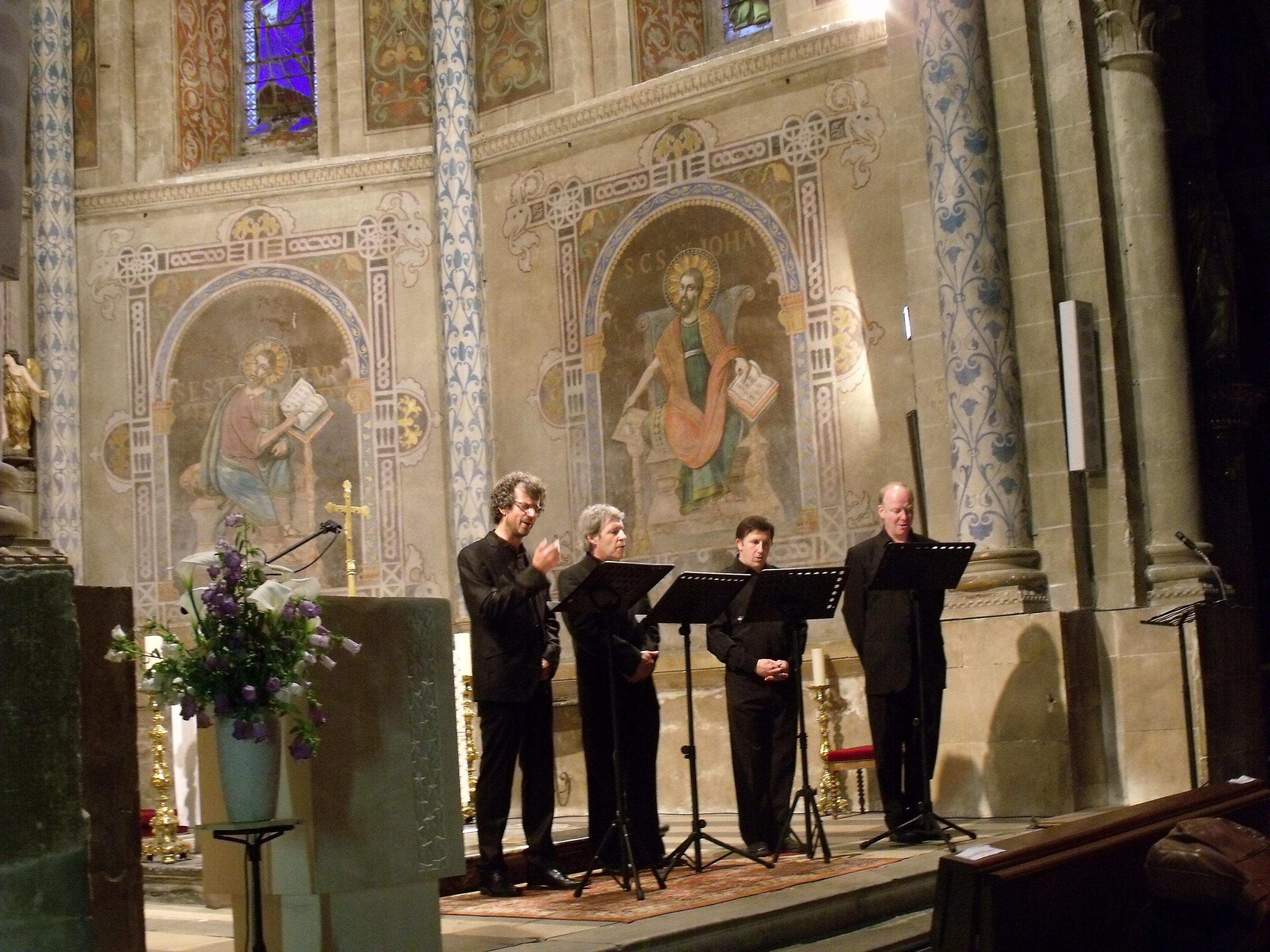 Le chant des Anges des Solistes de la Musique Byzantine au 43ème Festival de Villevieille Salinelles