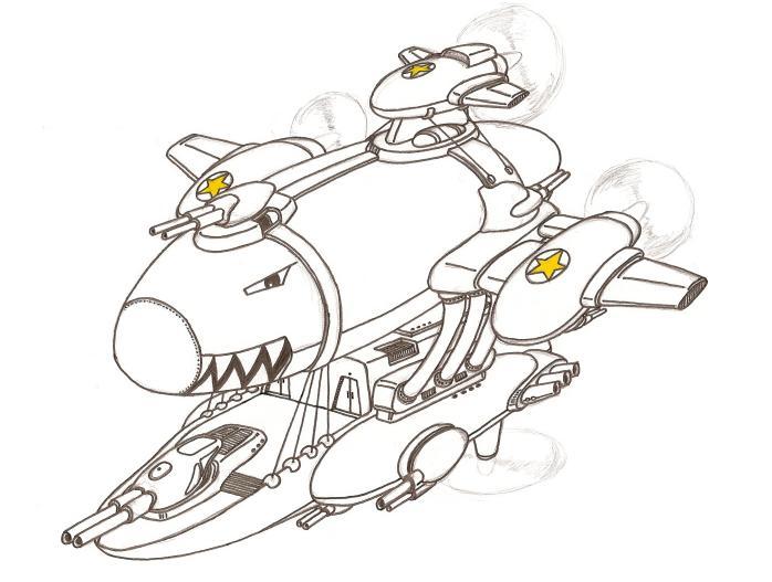Aeronef dirigeable
