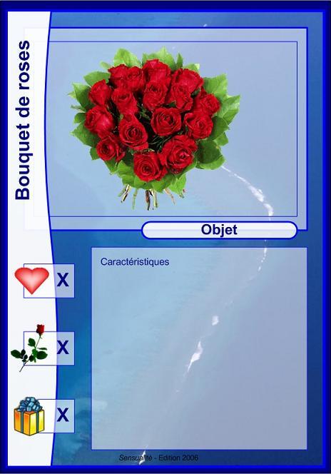 Objet - Bouquet de roses