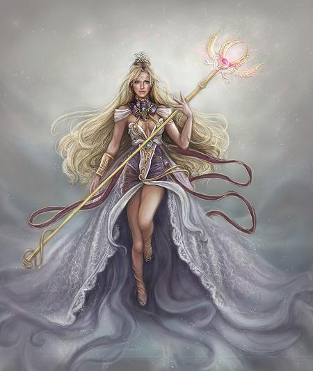 Image du jour - Goddess painted