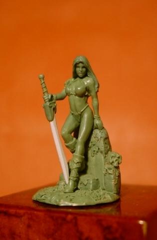 Green - Femme barbare