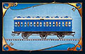 Les Aventuriers du Rail - Une carte bleue