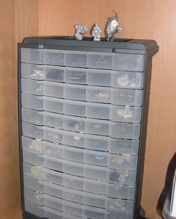 Ma boite à rabiots - Pièces détachées pour conversion