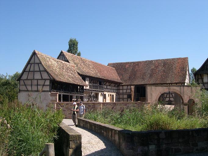 Ecomusée d'Alsace - Maisons