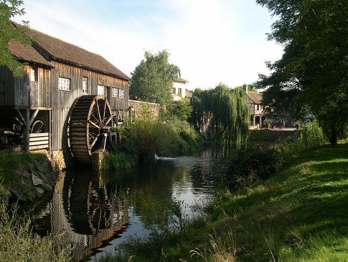 Ecomusée d'Alsace - Moulin a eau
