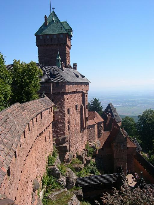 Photo traditionnel du Haut Koenigsbourg