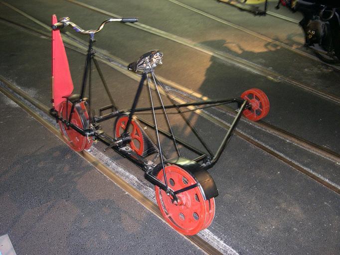 Vélo sur rail