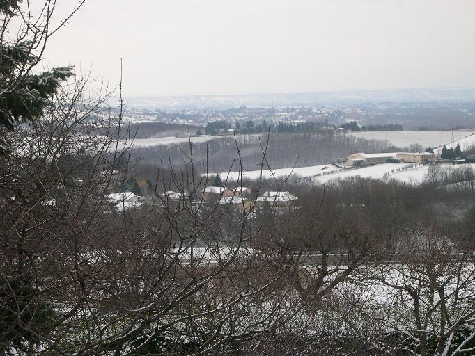 Monts du lyonnais depuis Fleurieux