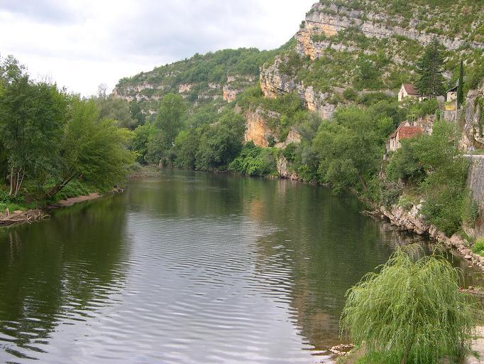 Larnagol - Vue sur le Lot