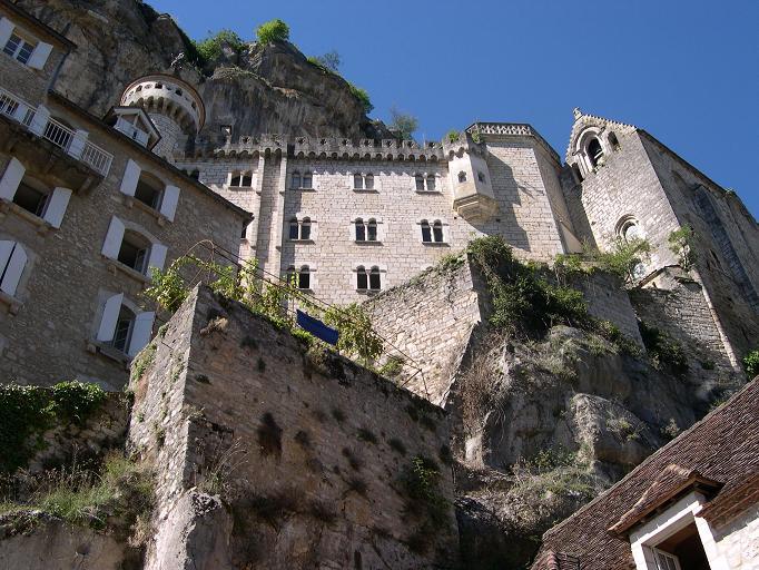 Sous le Sanctuaire de Rocamadour