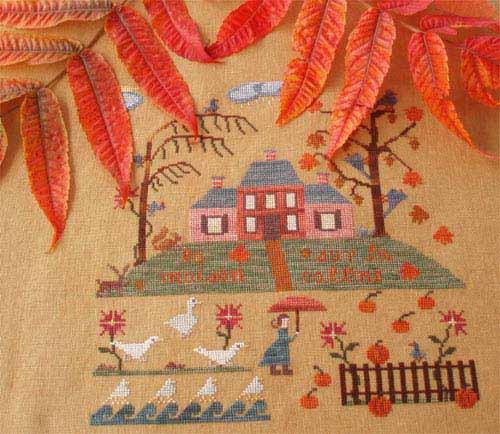 La maison sur la colline, copyright Fée Nicia