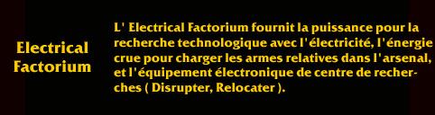 Description de Savage ElectricalFactorium
